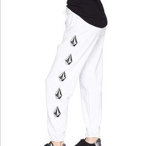 Volcom GMJ Fleece Sweatpants / Joggers NWT